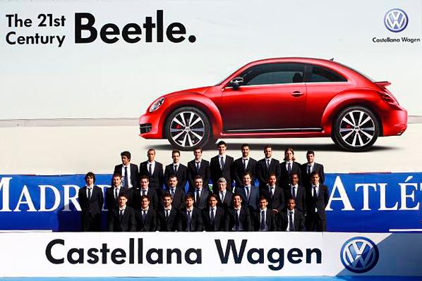 Volkswagen, marca oficial del equipo colchonero