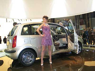 El Musa está basado en el Fiat Idea.