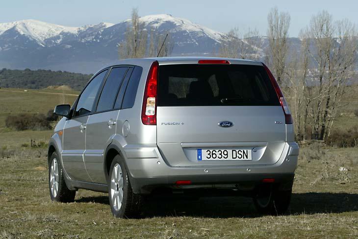 Ford Fusion 1.6 TDCi Plus