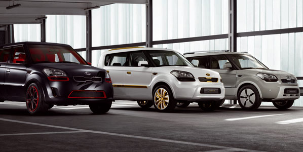 Kia Soul Diva, Bourner y Searcher
