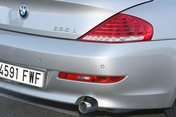 BMW 635d: detalles