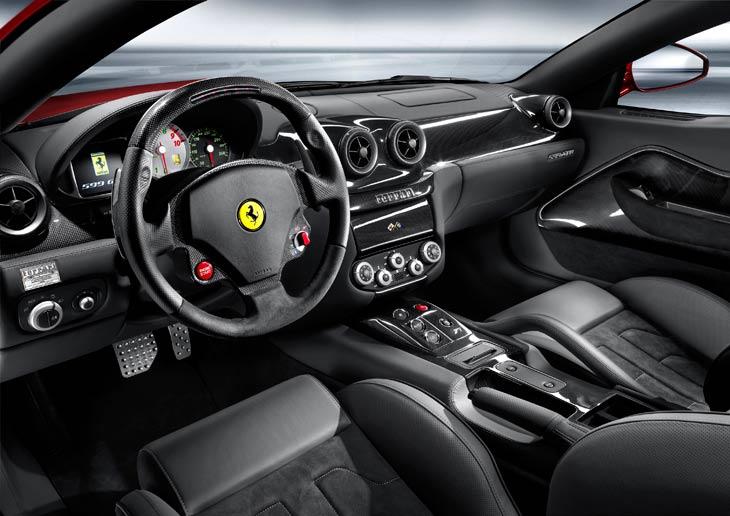 Ferrari: versiones 599 GTB Fiorano HGTE