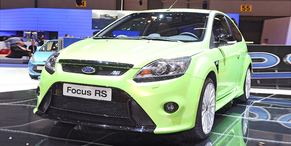Ford Focus RS: las fotos definitivas