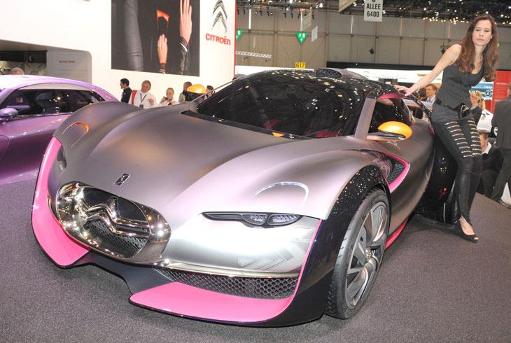 Citroën Survolt en Ginebra 2010