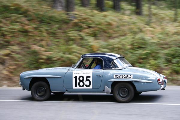 Mercedes 190 SL Rallye