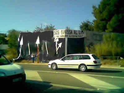 Paralizadas las obras de las autopistas entre Ibiza y San Antonio