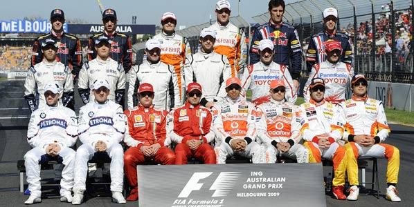 Los pilotos de 2009