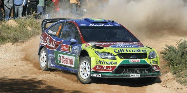 WRC: Hirvonen, obligado al primer puesto