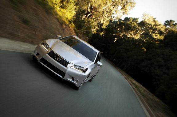 El Lexus GS 450h 2012, en junio.