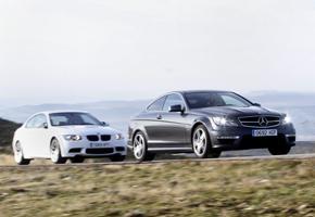 BMW M3 vs Mercedes C63 AMG Coupé