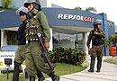 El ejército boliviano bloquea los pozos de Repsol