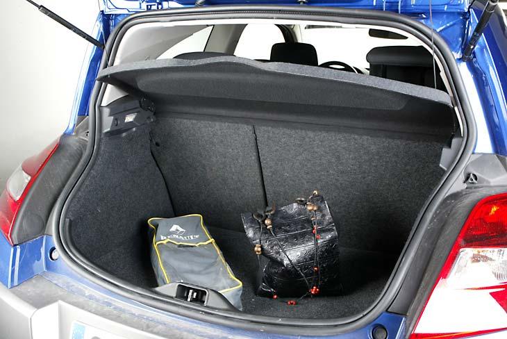 Un total de 355 litros de capacidad en el maletero.