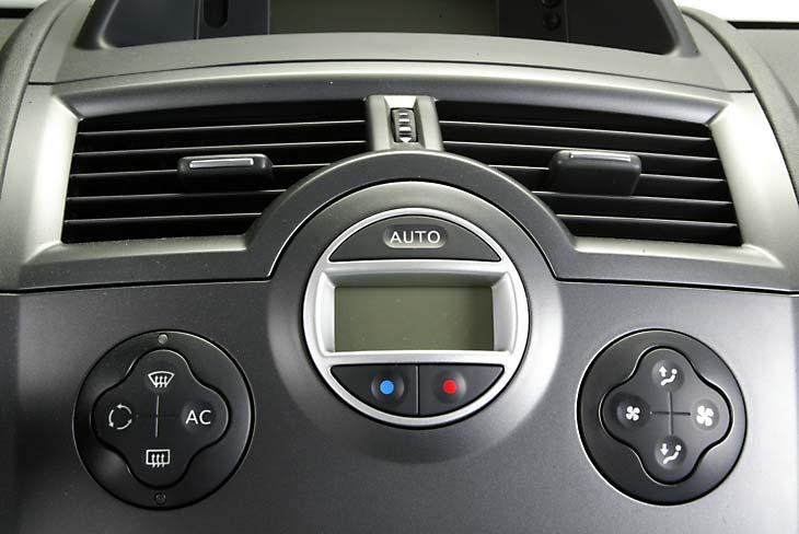 Los mandos del climatizador son claros y de sencillo uso.