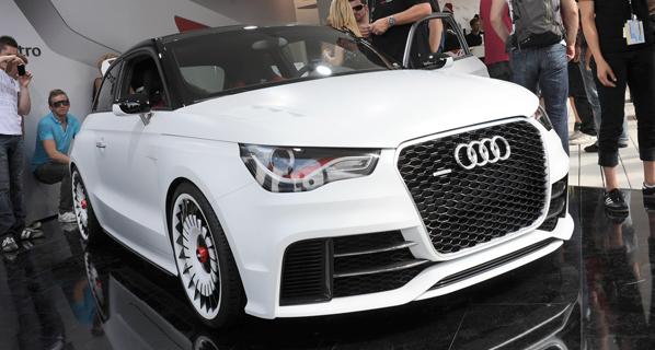 Audi A1 Clubsport Quattro: 503 CV