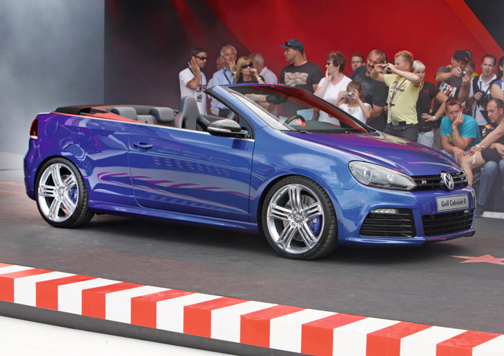Volkswagen Golf R Cabriolet Concept.