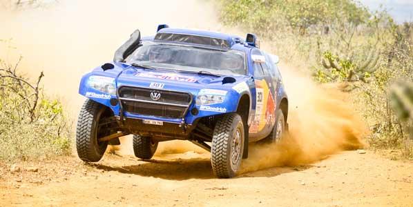 Carlos Sainz gana el rally Dos Sertoes