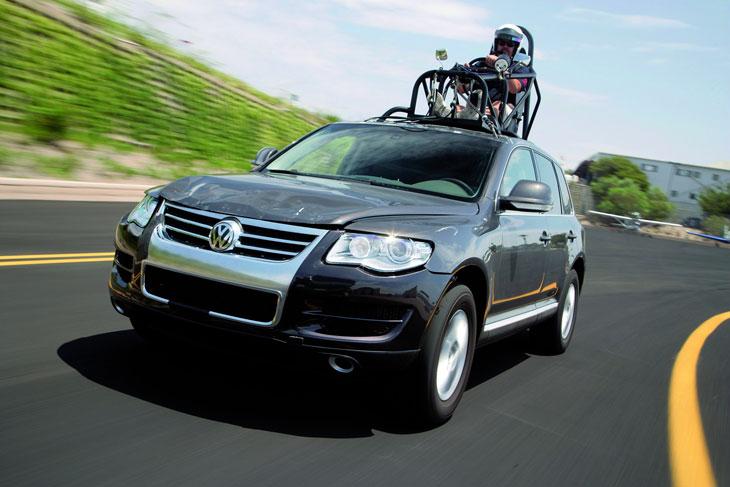 Volkswagen Toureg y The Bourne Ultimatum
