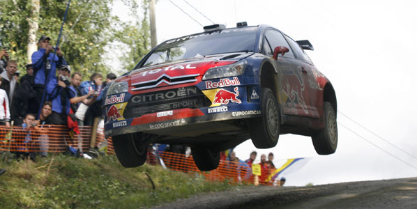 WRC Finlandia: Citroën 1º y 4ª