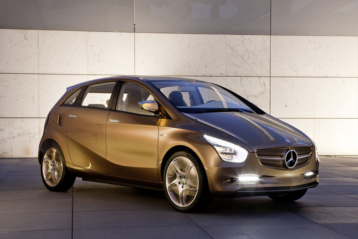 Mercedes Concept BlueZERO E-Plus Cell
