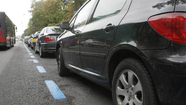 La grúa no podrá retirar el coche de la zona azul