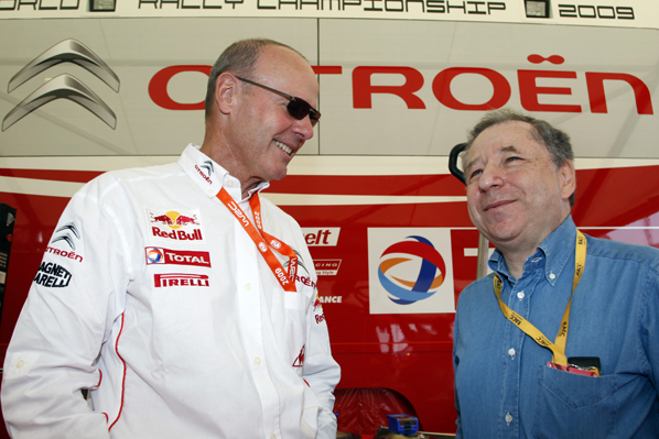 Todt y Vatanen en campaña en el Cataluña