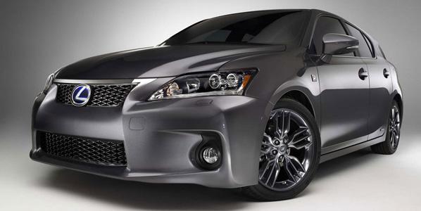 Lexus LS, ES y CT 200h Sport Special Editions