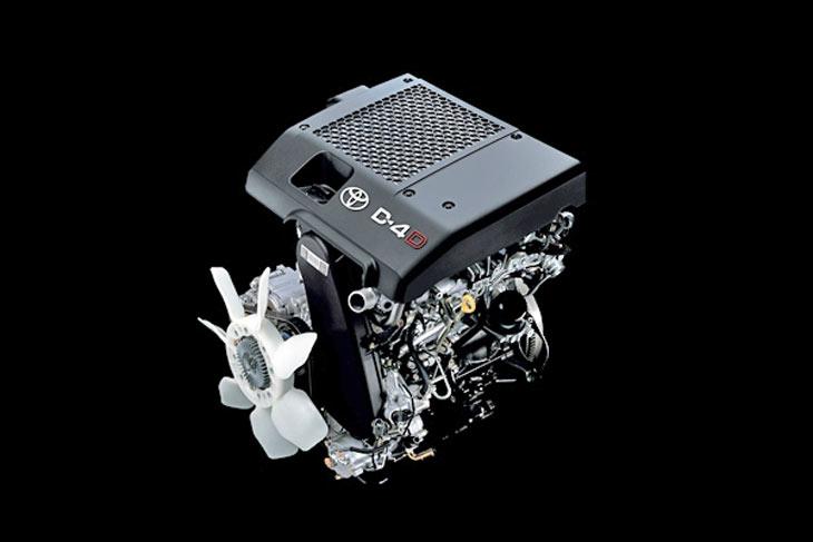 Un nuevo motor de 171 CV para la gama del Hilux.