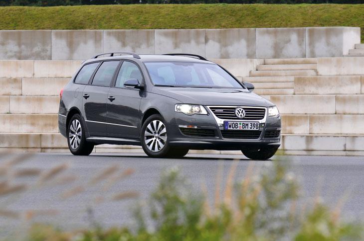 Volkswagen Passat y Golf BlueMotion