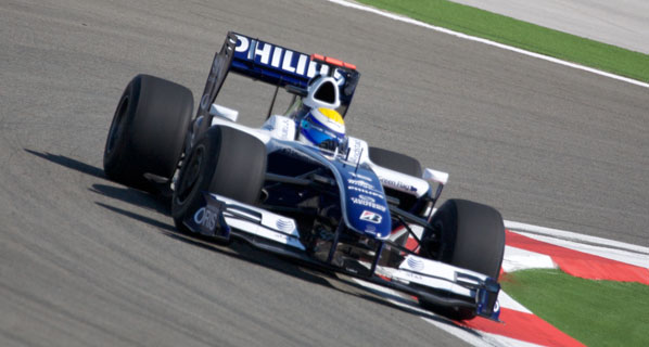 Barrichello y Hulkenberg, pareja de pilotos de Williams para 2010
