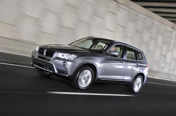 BMW X3, el contacto