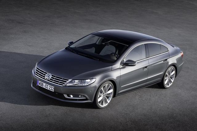 Volkswagen Passat CC 2012.