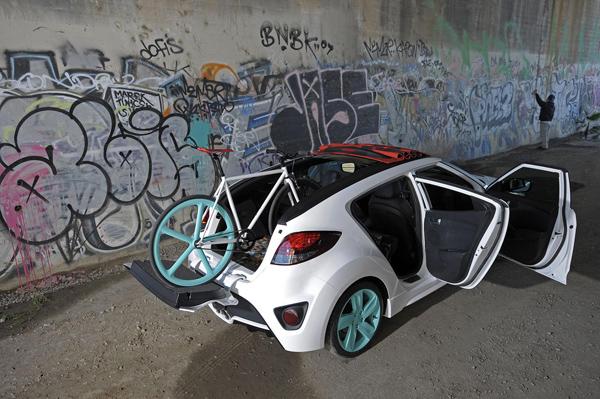 Hyundai Veloster C3 Roll Top Concept, en el Salón de Los Angeles