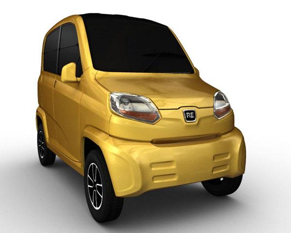 Bajaj RE60, más barato que el Tata Nano.