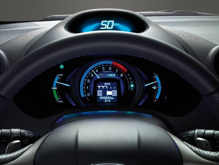 Honda Insight: indicadores