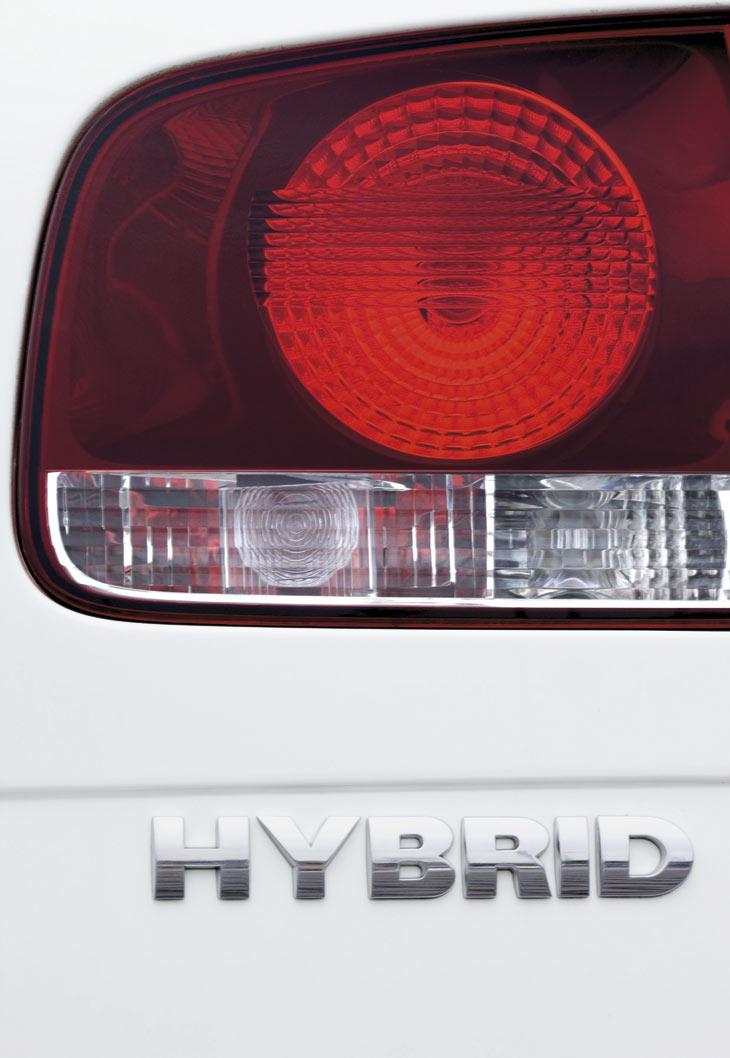Volkswagen Touareg Hybrid.