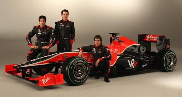 Virgin Racing presenta su monoplaza
