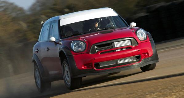 El Mini Countryman WRC hace su debut