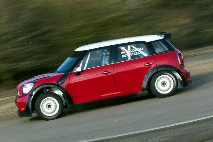 Mini Countryman WRC.