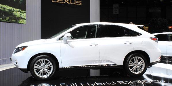 Nuevos Lexus RX350 y RX450h