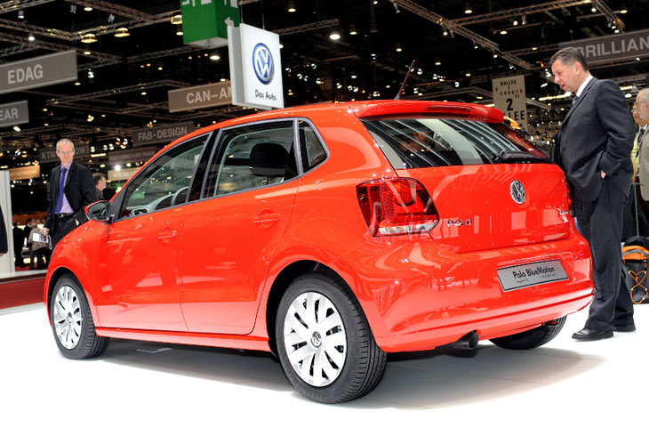Nuevo Volkswagen Polo Bluemotion II Concept.