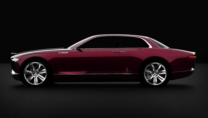 Bertone Jaguar B99 Sports Sedan Concept.
