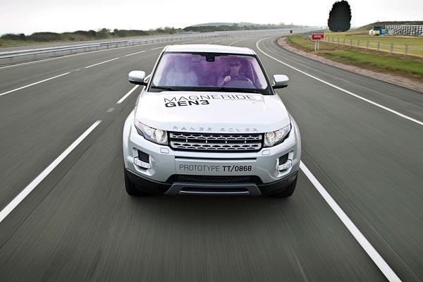 Range Rover Evoque el contacto