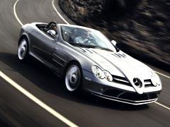 El Mercedes SLR se destapa