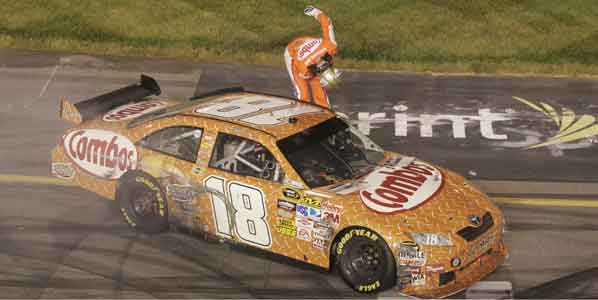 Kyle Busch gana en Richmond