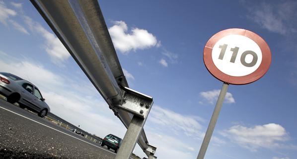 Los usuarios comprueban que a 110 km/h se ahorra