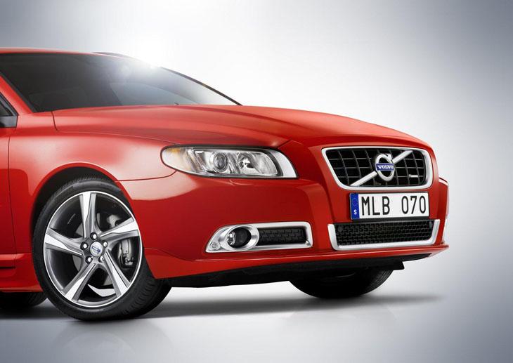 Volvo S80 y V70 R-Design.