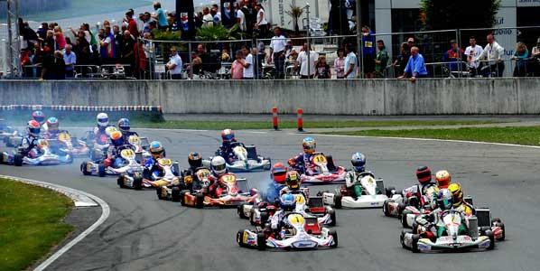 Sainz Jr en el podio de Alemania