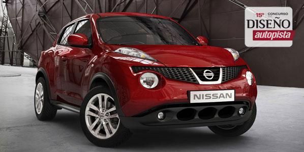 Diseña un coche y llévate un Nissan Juke