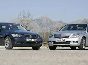 BMW 320d y Mercedes C 220 CDI