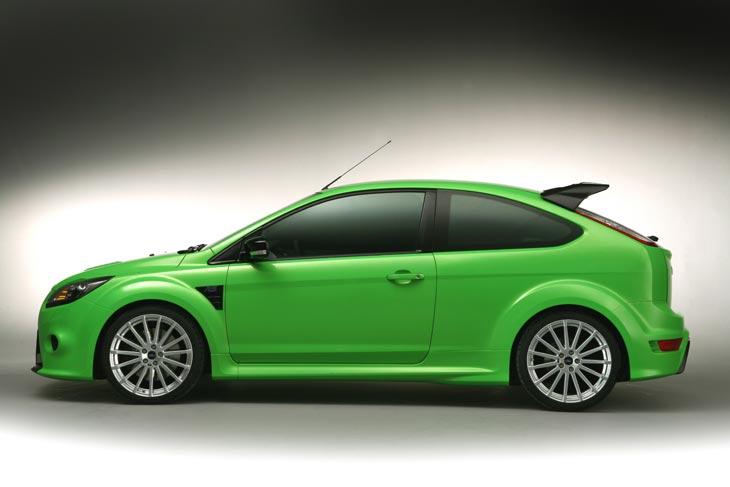 Primeras fotos oficiales del Ford Focus RS